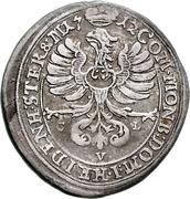 6 Kreuzer - Karl Friedrich von Bernstadt – revers