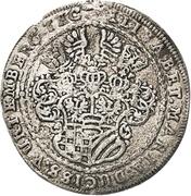 ¼ Thaler - Sylvius Friedrich (Death) – avers
