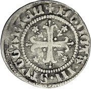 1 Schilling - Graf Ludwig I. – revers
