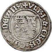 1 Schilling - Eberhard V. im Bart (Tübingen) – avers