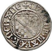 1 Schilling - Eberhard V. im Bart (Tübingen) – revers