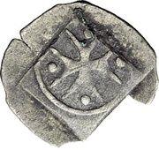 1 Heller - Graf Eberhard III. der Milde – revers