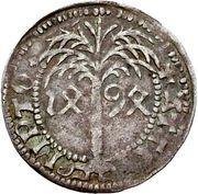 1 Schilling - Eberhard V. im Bart (Palmbaumschilling; Tübingen) – revers