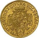 ½ ducat Karl Friedrich – revers