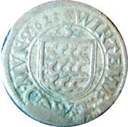 3 Kreuzer (Groschen) - Johann Frederich I – revers