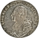 1 Taler - Friedrich I Eugen (300 ans du Duché) – avers