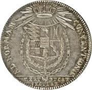 1 Taler - Friedrich I Eugen (300 ans du Duché) – revers