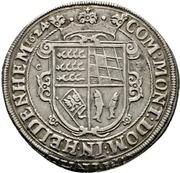 1 Thaler - Johann Friedrich I. (Christophstal) – revers