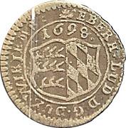 1 kreuzer Eberhard Ludwig – avers
