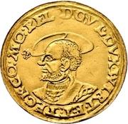 1 Ducat - Ulrich I. – avers