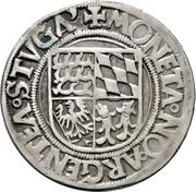 ⅛ thaler Ulrich – revers