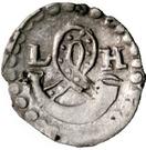 1 Pfennig - Louis le Pieux – avers