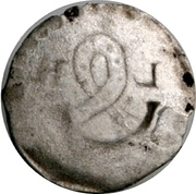 1 Pfennig - Louis le Pieux – revers