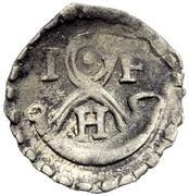 1 Pfennig - Johann Friedrich I. – avers