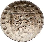 1 Pfennig - Johann Friedrich I. (Schüsselpfennig) – avers