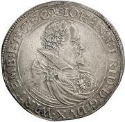 1 Thaler - Johann Friedrich I. – avers