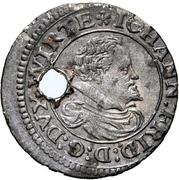 2 Kreuzer - Johann Friedrich I. -  avers