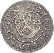 1 Schilling - Johann Friedrich I. (Kipper) – avers