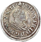 1/9 Thaler - Johann Friedrich I. – avers