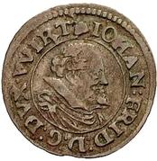 1 Kreuzer - Johann Friedrich I. – avers