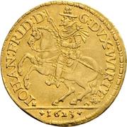 2 Ducat - Johann Friedrich (Cercle de Souabe) – avers