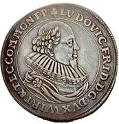 1 Thaler - Ludwig Friedrich von Mömpelgard – avers