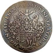1 Thaler - Ludwig Friedrich von Mömpelgard – revers