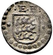 1 Pfennig - Eberhard III. – avers