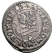2 Kreuzer - Eberhard III. – revers