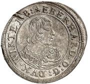 15 Kreuzer - Eberhard III. – avers