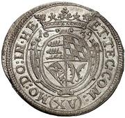15 Kreuzer - Eberhard III. – revers