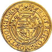 1 Ducat - Eberhard III. – revers