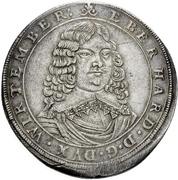 1 Thaler - Eberhard III. -  avers