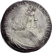 1 Thaler - Eberhard III. – avers