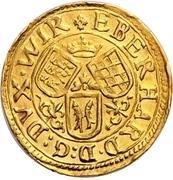 ½ Ducat - Eberhard III. – avers