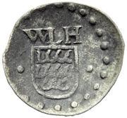 1 Pfennig - Wilhelm Ludwig -  avers