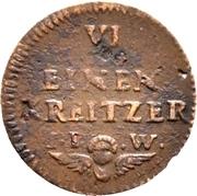 1 Heller - Friedrich Karl – revers