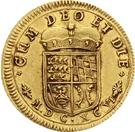 1 Ducat - Eberhard Ludwig – revers