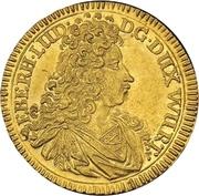 1 Ducat - Eberhard Ludwig – avers