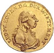 1 Ducat - Ludwig Eugen – avers