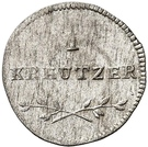 1 Kreuzer - Friedrich Eugen – revers