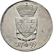 6 Kreuzer - Friedrich II. – revers