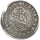 ⅙ Thaler - Ludwig Friedrich – avers