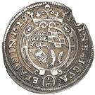 ⅙ Thaler - Ludwig Friedrich – revers