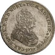 1 thaler Karl Rudolf – avers