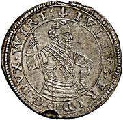 15 kreuzer Julius Friedrich – avers