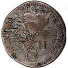 3 kreuzer Friedrich II – avers