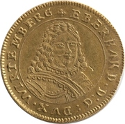 2 Ducat - Eberhard III. (Peace) – avers