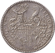 2 Thaler - Ludwig (Birthday of Ulrich) – revers