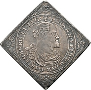 1 Thaler - Johann Friedrich (Klippe) – avers